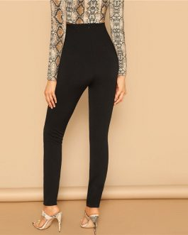 Women Going Out Slim High Waist Leggings