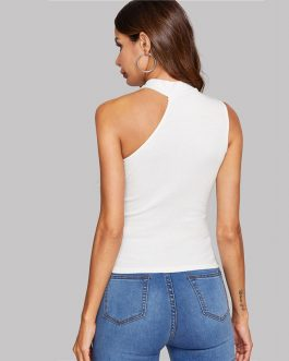 Women Sexy Cold Shoulder Stretchy Highstreet Camis