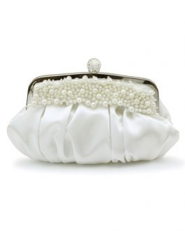 Formal Handmade Pearls Beading Women's Evening Bag