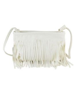 Fringe Shoulder Bag Black Single Strap Cross body Bag For Girl