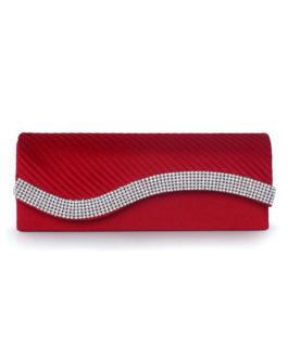 Vintage Crystal Silk Evening Bag for Women