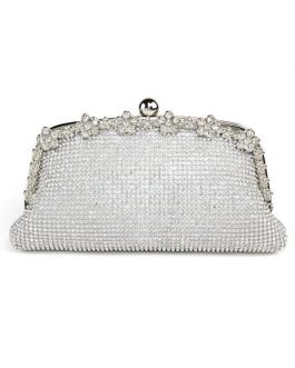 Wedding Clutch Bag Rhinestones Beaded Bridal Evening Bags