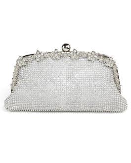 Wedding Clutch Bag Rhinestones Beaded Bridal Evening Bags