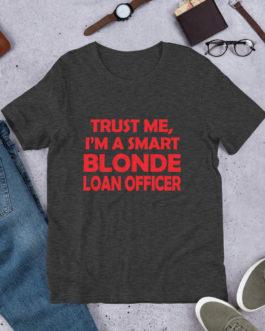 Smart Blonde short Sleeve T-Shirt