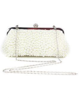 Beautiful Glitter Beaded Evening Bag for Woman