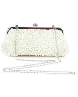 Beautiful Glitter Beaded Evening Bag for Woman