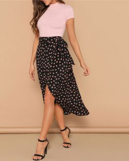 Boho Women Casual Beach Vacation Skirts