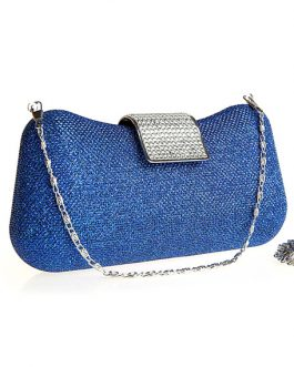 Casual Glitter Metal Womens Evening Bag