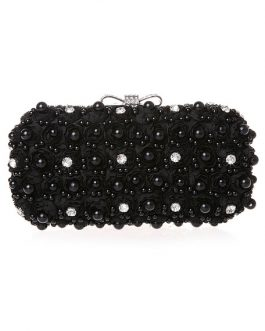 Glitter Metal Evening Bag for Woman