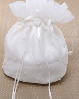 Pearls Wedding Handbag for Brides