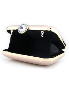Wedding Bridal PU Rhinestones Evening Clutch Handbags