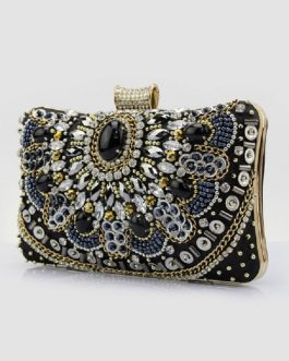 Wedding Studded Evening Clutch Handbags