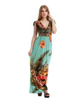 Women Bohemian Vestidos long Plus size Maxi Dress