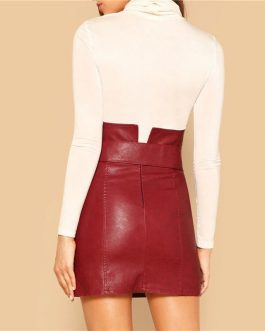Women Casual Glamorous Sheath Mini Skirt