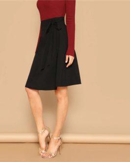 Women Office Lady Elegant Workwear Skirts