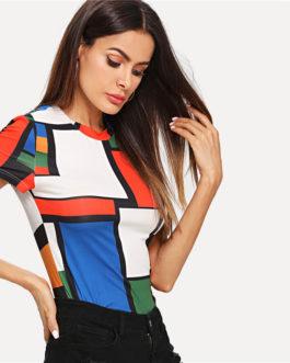 Women Raglan Sleeve Slim Fit Pullovers T-shirt