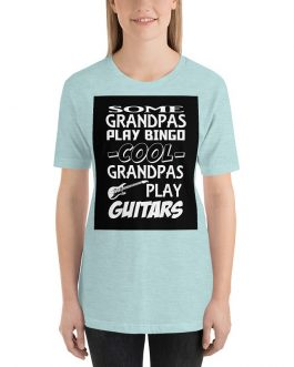 Cool Grandpas play guitart Short Sleeve T-Shirt