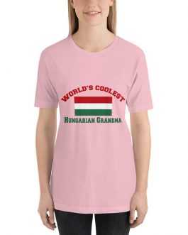 Coolest Hungarian Grandma Short Sleeve t-shirt