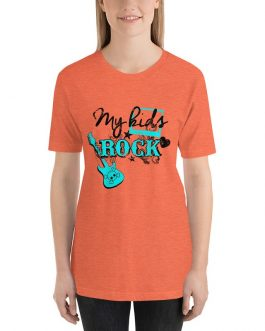 My Kids Rock Short Sleeve T-shirt