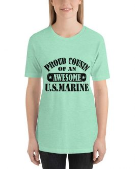 Proud cousin of US Marine Short Sleeve t-shirt