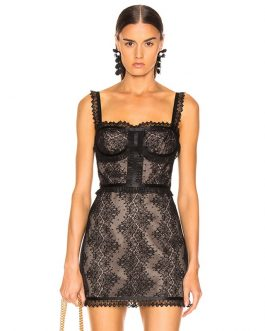 Vestido Sexy Lace Spaghetti Strap Mini Club Dress