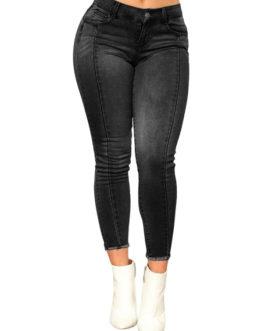 Women Denim Jeans High Waist Skinny Jeans