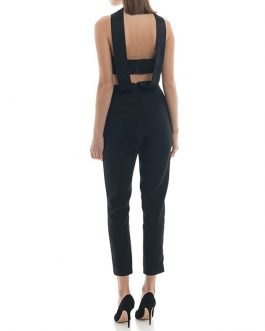 Women New Long Bodycon Sexy Club Runway Bandage Jumpsuit