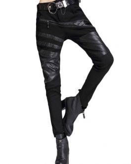 Women Skinny Pants With Zipper