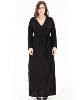 Bohemian plus size evening party long Maxi dress