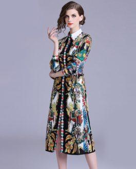 Boho Loose Waist Midi Party Maxi Dress