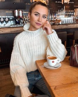 Casual Turtleneck Pullover Sweater