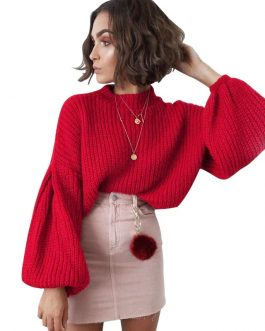Elegant Vintage Knitted Sweater