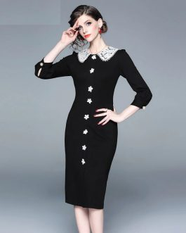 Evening party Vintage short dress