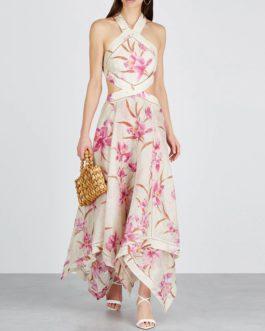 Sexy Spaghetti Strap Halter Dress