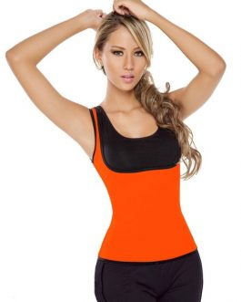 Shapewear Athletic Shaping Jacket With Side Zip Closure