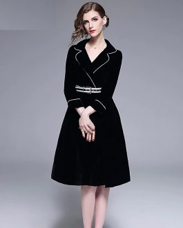Velvet Elegant evening party Short Dress