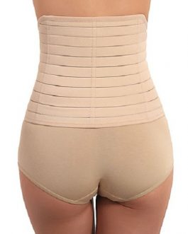 Waist Cincher Tummy Control Comfy Front-Close Waist Trainer