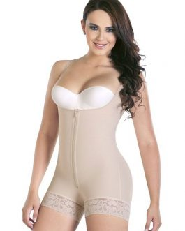 Waist Shaper Underbust Sleeveless Ruffled Shaping Bodysuit