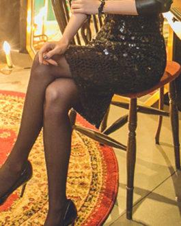 Chains Raised Waist Layered Beautiful Sexy Skirt