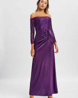 Party Dress Off The Shoulder Lace Dress