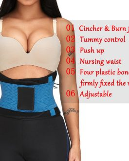Double Fixed Waist Trainer Patchwork Hourglass Body Shapewear