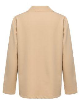 Elegant Casual streetwear female blazer