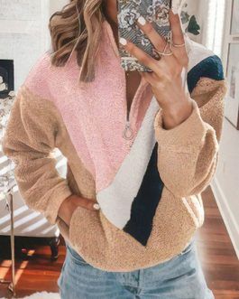 Half Sleeve Pullover Sweat Shirt