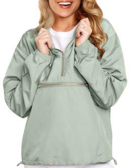Long Sleeves Hooded Outerwear Sweatshirt
