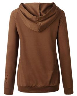 Long Sleeves Hooded Sweatshirt