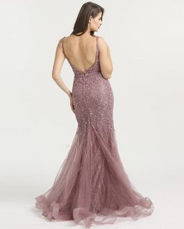 Sexy Long Sequin Mermaid Formal Evening Party Gown