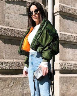 Zippers Warm Padded Streetwear Jackets