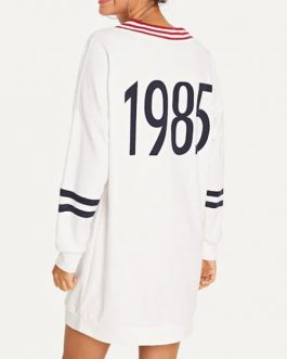 Outerwear Long Sleeves Color Block Sweatshirt