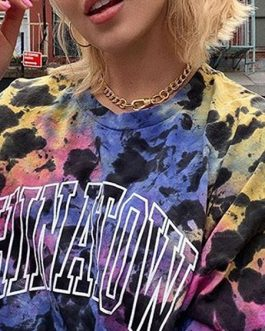 Outerwear Long Sleeves Floral Print Sweatshirt
