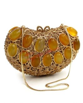 Agate Gems Diamonds Evening Hand Bags